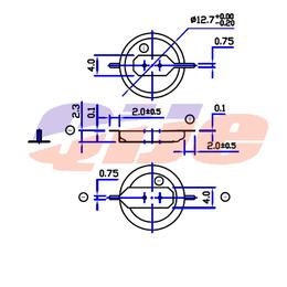 主板插脚CR1220纽扣电池