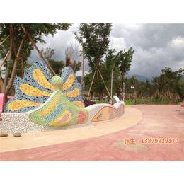 景德镇申达陶瓷厂(图)、鹅卵石手绘、江门鹅卵石
