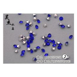 昊杰水晶工艺绝伦(图)、烫钻加工厂、义乌烫钻