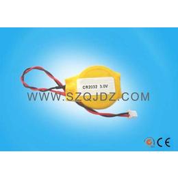 3V带线扣式电池CR2032焊线带插头电池