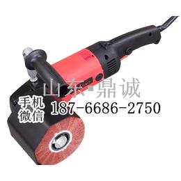 广东深圳手提式智能数控抛光机 电动不锈钢金属表面拉丝机