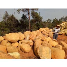 广东黄蜡石 福建园林黄蜡石 大量批发黄蜡石