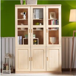 簡約現代書櫥簡易書架儲物柜縮略圖