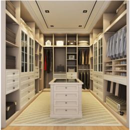 开放式衣帽间 移门衣柜 卧室储物柜