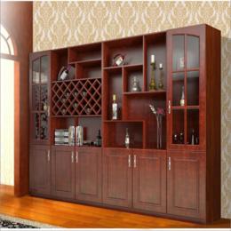 欧式实木酒柜 客厅餐厅柜