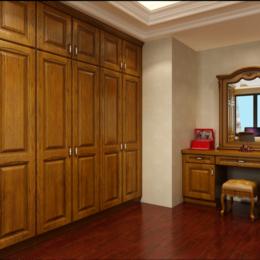 美式红橡实木衣服柜子缩略图