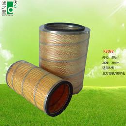 广东滤清器厂家直销空气滤清器K3038 汽车空气滤清器