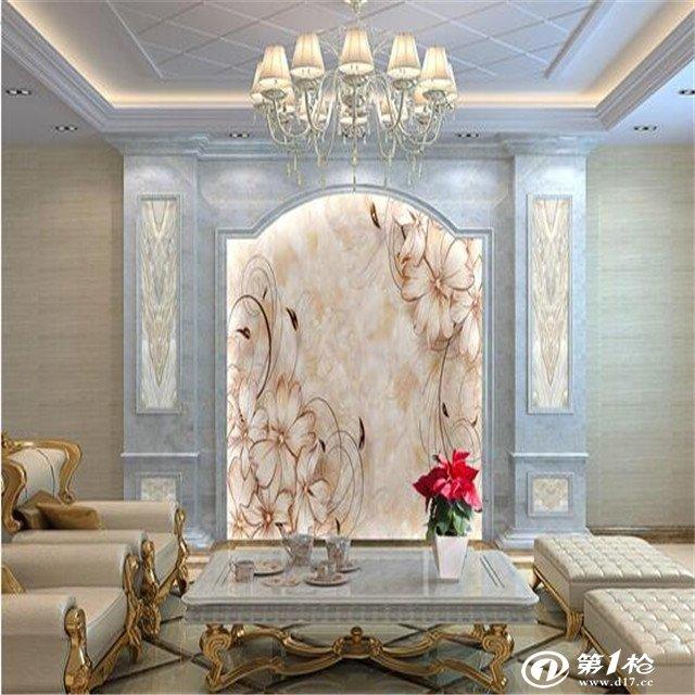 大理石纹 3d电视背景墙图片