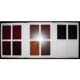 橱柜色卡强化门色板晶钢门板样板册