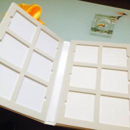 乳胶漆色卡烤漆门板样本册