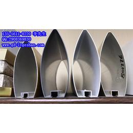 桂林型材铝方通 铝合金凹槽管 凹槽铝方管规格 铝天花幕墙型材