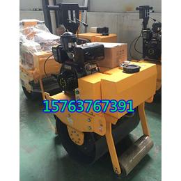 单钢轮压路机价格手扶式单轮压路机图片路面柴油压路机