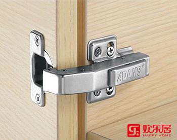 欢乐居整体家居定制材料:QD12E冷轧钢板液压铰链