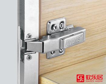 欢乐居整体家居定制材料:QD12G冷轧钢板液压铰链