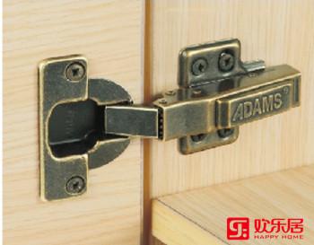 欢乐居整体家居定制材料:QD40A镀古铜铰链