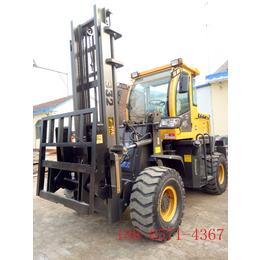 甘肃四驱越野叉车车铲重2吨的升高3米的叉车哪里有卖的