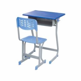 塑钢固定式课桌椅