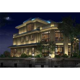 品立照明(图),别墅灯光公司,盐城别墅灯光