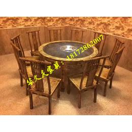 华久庆餐饮连锁加盟桌椅定做 连锁加盟餐馆桌椅板凳批发缩略图