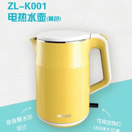 中联 电热水壶家用自动断电304不锈钢保温烧水壶