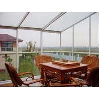 阳光房的房顶材料和房面材料