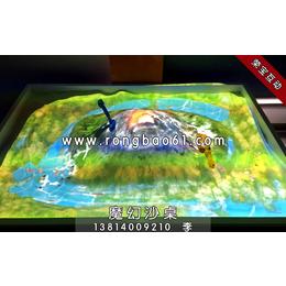 互动投影沙桌-魔幻沙桌-沙盘投影-互动投影沙桌游戏
