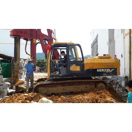 佛山市海峨桩工旋挖钻机房屋基建打桩总代直销
