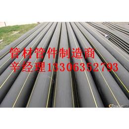 石嘴山市煤层气专用管材管件新国标HDPE燃气管材管件