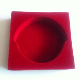红色防静电eva红色防静电eva绒布内衬可出口