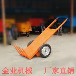 金业建筑工地拉砖车省时省力手推电动平板车可进电梯电动拉砖车
