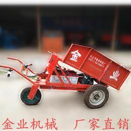 砖厂手推出窑车电动三轮出砖车建筑工地拉砖车