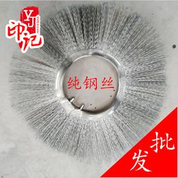 厂家直销 扫雪刷方块刷 扫雪机manbetx官方网站扫雪刷片环保扫路刷纯钢丝