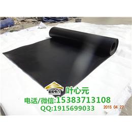 5KV黑色平面绝缘胶垫 厂家直销