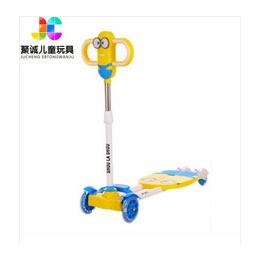 厂家直销小黄人儿童剪刀滑板车 多色儿童摇摆剪刀车