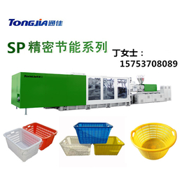 山东塑料海蜇筐生产机器 海鲜筐设备-注塑机