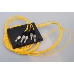盒式分光器1分4尾纤式分光器FC圆头光分路器电信级