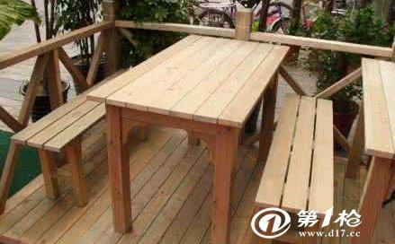 江西防腐木长廊