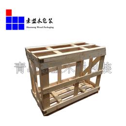 青岛港口木托盘厂家专业定做包装箱  能承重硬度好
