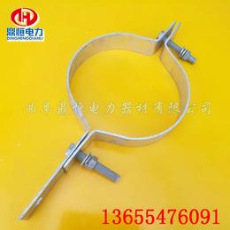 光缆抱箍  ADSS抱箍型号  光缆金具厂家