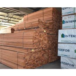 程佳木业红雪松防腐木规格齐全快来选购吧