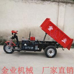 建筑工地工程车矿用电动自卸车拉混凝土斗车使用范围广电动翻斗车