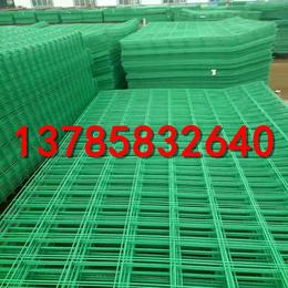 围栏网生产厂家   绿色铁丝围栏    江苏护栏网