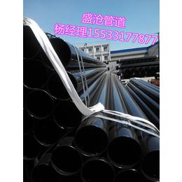 盛沧DN100电缆穿线涂塑钢管