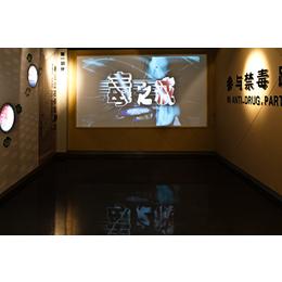 河南省许昌市禁毒教育基地展厅投影机系列安装调试规划公司
