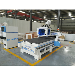 全自动数控开料机 打孔开料全自动机器 工泰数控机械