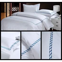 五星级酒店布草 全棉高档商务酒店四件套 酒店宾馆床上用品