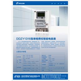 DDZY1316单相远程费控智能表485接口---价格_厂家