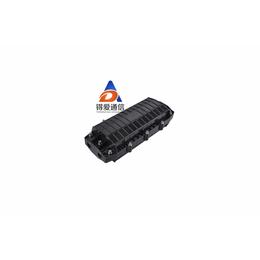 2进2出小D微型光缆接头盒12芯光纤接续盒卧式光纤熔接盒防水