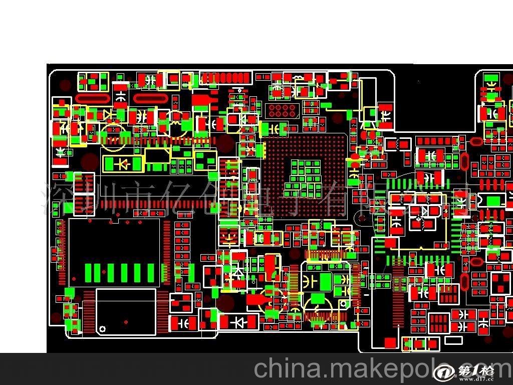 pda pcb layout_线路板/电路板_第一枪