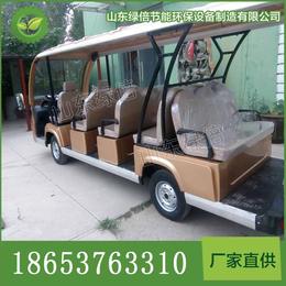 济宁11座电动观光车电动巡逻车高尔夫球车旅游车价格图片